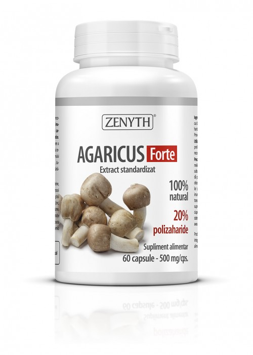 Agaricus Forte (60 capsule) Imagine 1
