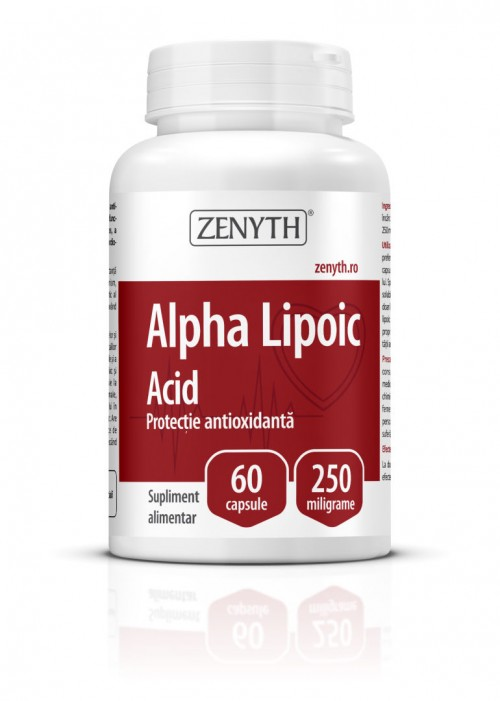 Acid Alfa Lipoic (60 capsule) Imagine 1