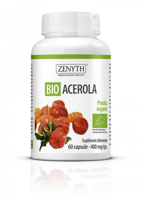 Bio Acerola (60 capsule) Imagine 1