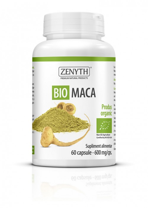 Bio Maca (60 capsule) Imagine 1