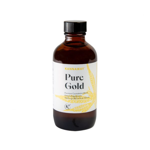 Ulei CBD Pure Gold 1000 mg (120 ml) Imagine 1