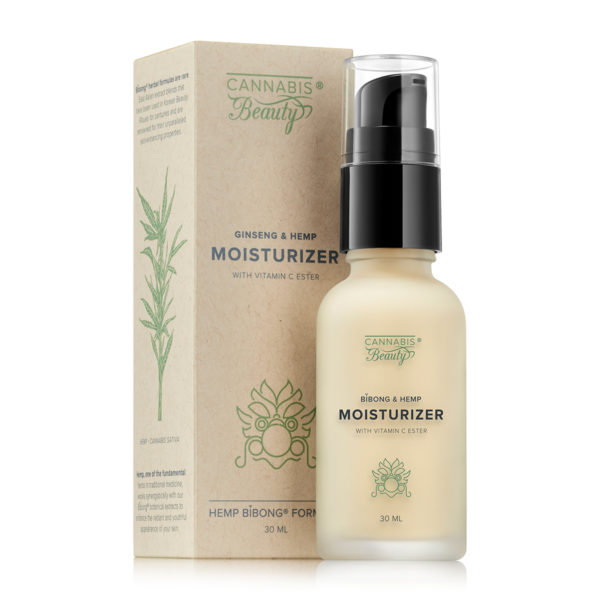 Ginseng & Hemp Moisturizer (30 ml) Imagine 1