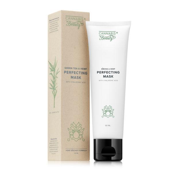 Green Tea & Hemp Perfecting Mask (60 ml) Imagine 1