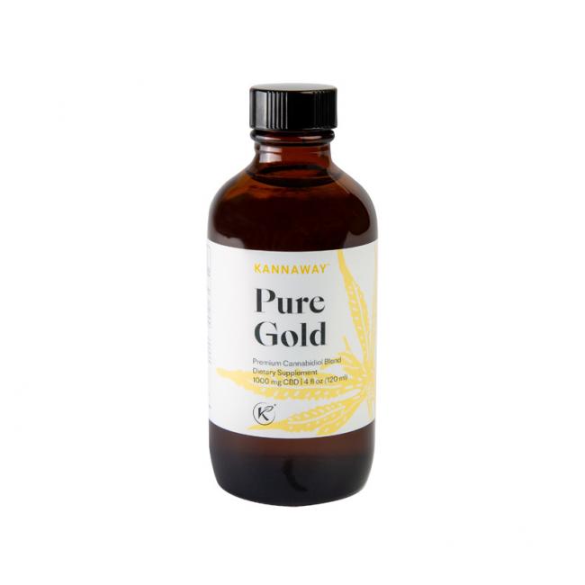 Uleiul Pure Gold Kannaway