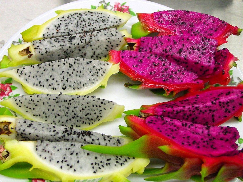 Fructul dragonului mai este numit și pitaya.