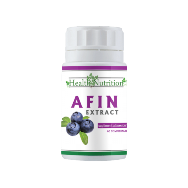 Afin Extract (60 comprimate) Imagine 1