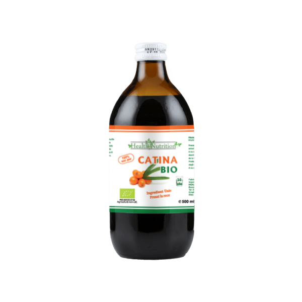 CĂTINĂ BIO 100% Suc Pur (500 ml) Imagine 1
