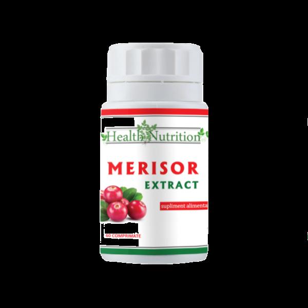 Merișor Extract 2400 mg (60 comprimate) Imagine 1