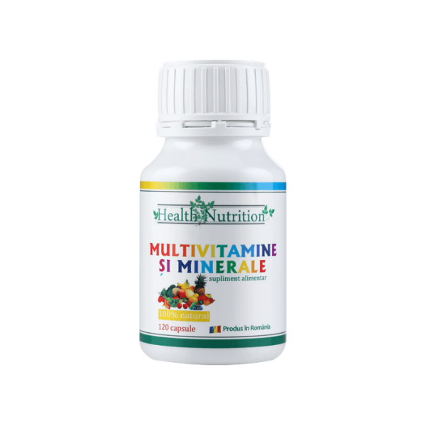 MULTIVITAMINE SI MINERALE 120 cps Imagine 1