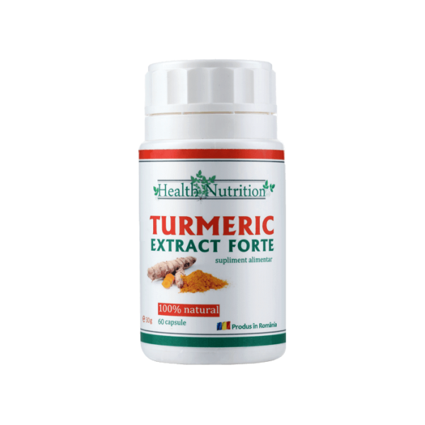 TURMERIC EXTRACT FORTE 60cps Imagine 1