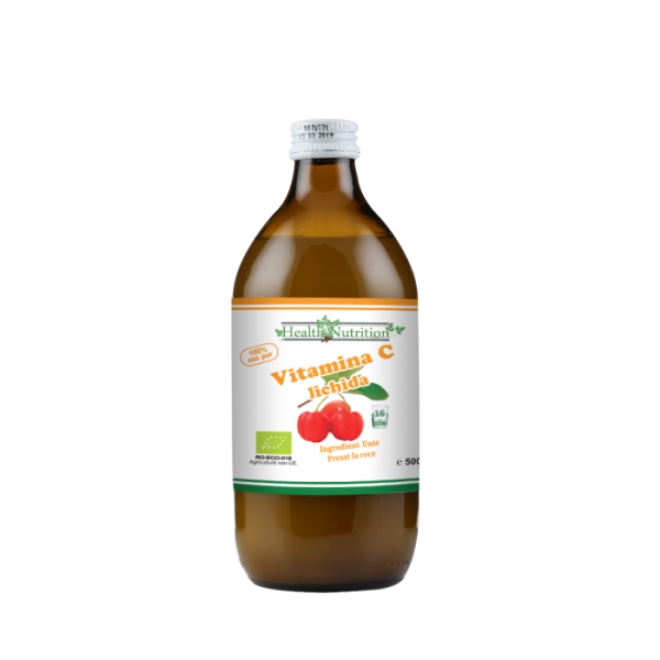 Vitamina C lichidă Bio 500 ml Imagine 1