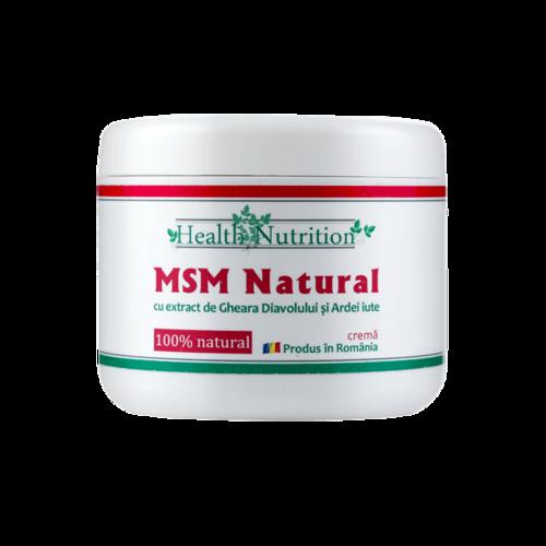 MSM Natural Cremă 200 ml Imagine 1