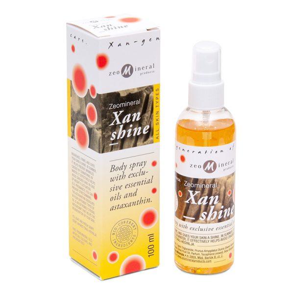 Zeomineral Xanshine – Spray natural de corp (100 ml) Imagine 1