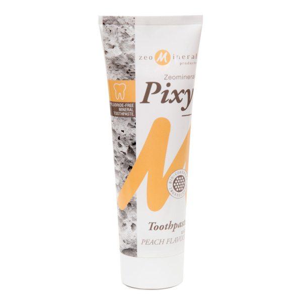 Zeomineral Pixy Pastă de dinți – Piersici (125 ml) Imagine 1