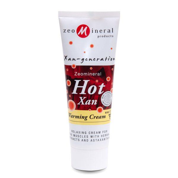 Zeomineral Hot-Xan – Cremă cu efect de încălzire (125 ml) Imagine 1