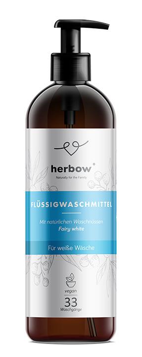 Detergent de rufe albe Herbow (Bio) – Fairy White 1000 ml Imagine 1