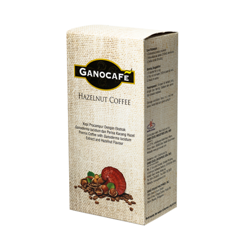 GanoCafe Hazelnut (20 plicuri) Imagine 1