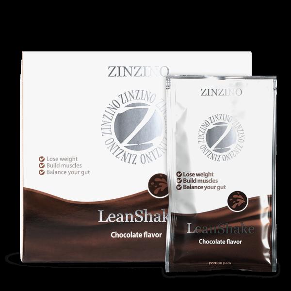 Zinzino LeanShake cu aroma de Ciocolata Imagine 1