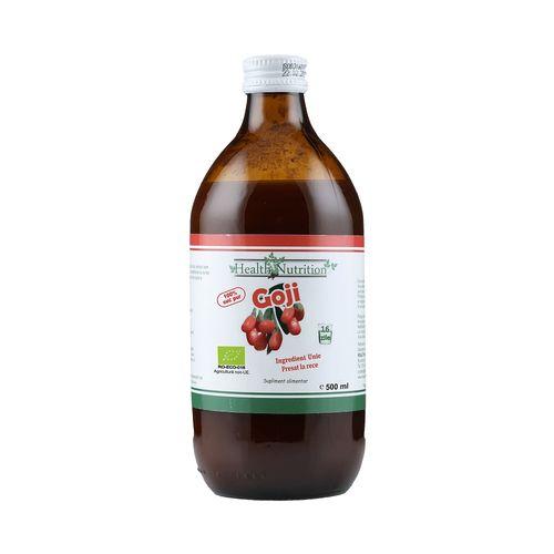 Goji BIO – 100% Suc pur (500 ml)- Health Nutrition Imagine 1