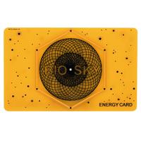 Card BIOSKY pe bază de cristale fotonice (galben) – reglarea funcției stomac-splină Imagine 1